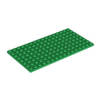 LEGO 4610602 PLATE 8X16 - DARK GREEN