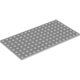 LEGO 4598522 PLATE 8X16 - MEDIUM STONE GREY
