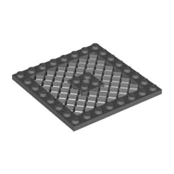 LEGO 4211036  GRILLE 8X8 - DARK STONE GREY