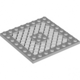 LEGO 4221602 GRILLE 8X8 - MEDIUM STONE GREY