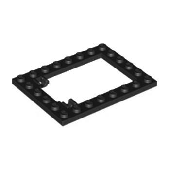 LEGO 3004126 CADRE TRAPPE  6X8 - NOIR