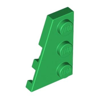 LEGO 4180538 PLATE 2X3 ANGLE GAUCHE - DARK GREEN lego-4180538-plate-2x3-angle-gauche-dark-green ici :