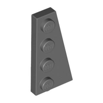 LEGO 4210782 PLATE 2X4 ANGLE DROIT - DARK STONE GREY