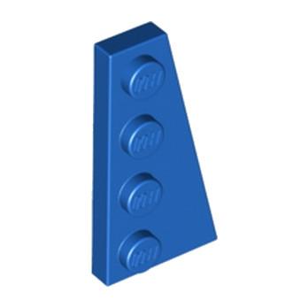 LEGO 4160867 PLATE 2X4 ANGLE DROIT - BLEU