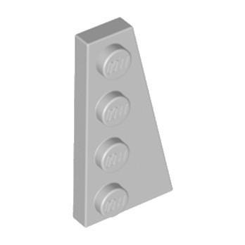 LEGO 4211732 PLATE 2X4 ANGLE DROIT - MEDIUM STONE GREY