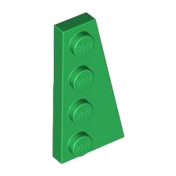 LEGO 4160871 PLATE 2X4 ANGLE DROIT -  DARK GREEN
