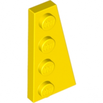 LEGO 4160868  PLATE 2X4 ANGLE DROIT - JAUNE