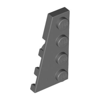 LEGO 4210788 PLATE 2X4 ANGLE GAUCHE - DARK STONE GREY