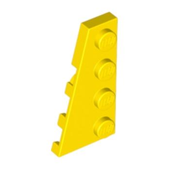 LEGO 4161331 PLATE 2X4 ANGLE GAUCHE - JAUNE