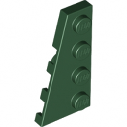 LEGO 4648340 PLATE 2X4 ANGLE GAUCHE - EARTH GREEN
