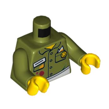 LEGO 6065074 TORSE - OLIVE GREEN