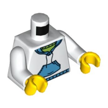 LEGO 4570026 TORSE - SWEAT - BLANC