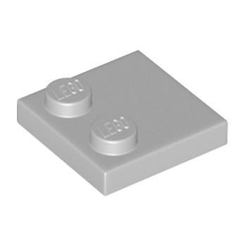 LEGO 33909 PLATE 2X2 - MEDIUM STONE GREY