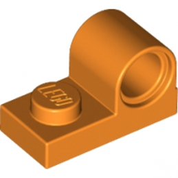 LEGO 6179800 PLATE 1X2 W. HOR. HOLE Ø 4.8 - ORANGE