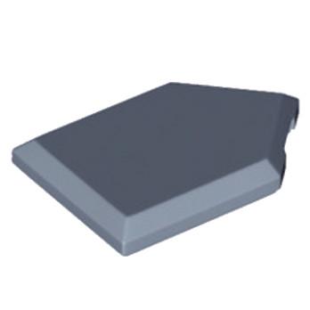 LEGO 6139341 FLAT TILE2X3 W/ANGLE  - SAND BLUE