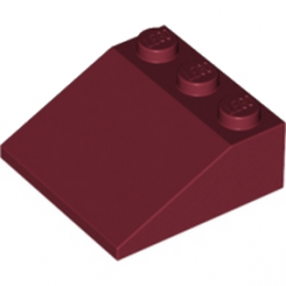 LEGO 6052995 TUILE 3X3/25° - NEW DARK RED
