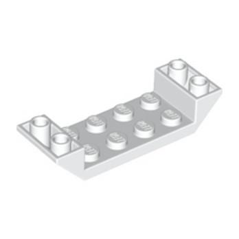 LEGO 6131572 ROOF TILE 2X6 45 DEG - BLANC