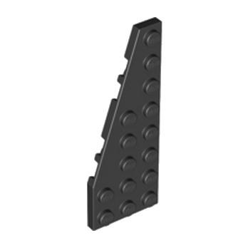 LEGO 4251394 PLATE 3X8 ANGLE GAUCHE - NOIR