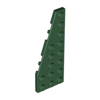 LEGO 4250117 PLATE 3X8 ANGLE GAUCHE  - EARTH GREEN