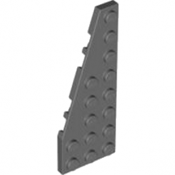 LEGO 4529728 PLATE 3X8 ANGLE GAUCHE  - DARK STONE GREY