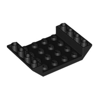LEGO 4119370 INV. ROOF TILE 4X6, 3XØ4.9 - NOIR