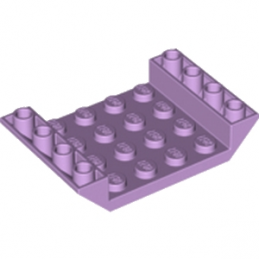LEGO 6195507 INV. ROOF TILE 4X6, 3XØ4.9 - LAVENDER lego-6195507-inv-roof-tile-4x6-3xo49-lavender ici :