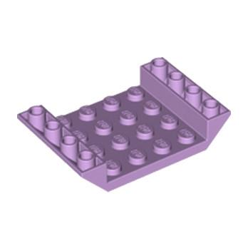 LEGO 6195507 INV. ROOF TILE 4X6, 3XØ4.9 - LAVENDER
