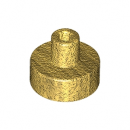 LEGO 6126113 ROND 1x1 AVEC PIN - WARM GOLD
