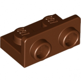 LEGO 6174856 ANGULAR PLATE 1.5 BOT. 1X2 1/2 - REDDISH BROWN