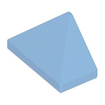 LEGO 15571 - TUILE 1X2/45° - MEDIUM BLUE lego-15571-tuile-1x245-medium-blue ici :