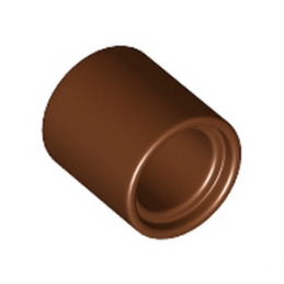 LEGO 6170813 TUBE BEAM 1x1 - REDDISH BROWN