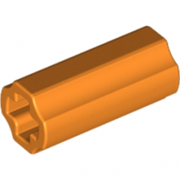 LEGO 6143028 CROSS AXLE, EXTENSION, 2M - ORANGE