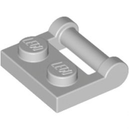 LEGO 4244627 PLATE 1X2 W. STICK 3.18 - MEDIUM STONE GREY