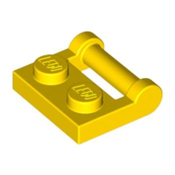 LEGO 4217562 PLATE 1X2 W. STICK 3.18 - JAUNE