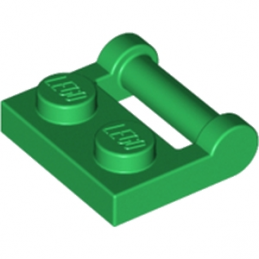 LEGO 4521931 PLATE 1X2 W. STICK 3.18 - DARK GREEN
