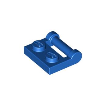 LEGO 4247103  PLATE 1X2 W. STICK 3.18 - BLEU lego-4514398-plate-1x2-w-stick-318-bleu ici :