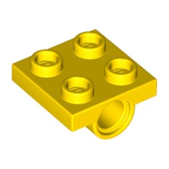 LEGO 244424 TECHNIC BEARING PLATE 2X2 - JAUNE