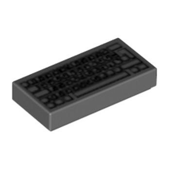 LEGO 4493478 CLAVIER D'ORDINATEUR - DARK STONE GREY
