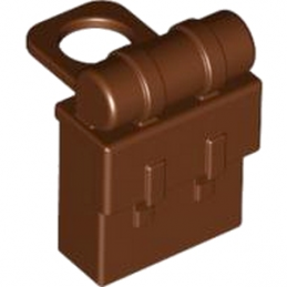 LEGO 4598713 SAC A DOS - REDDISH BROWN