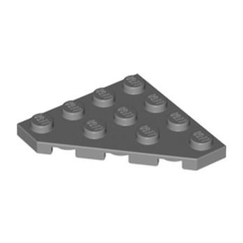 LEGO 4210728 PLATE D'ANGLE 45 DEG. 4X4 - DARK STONE GREY