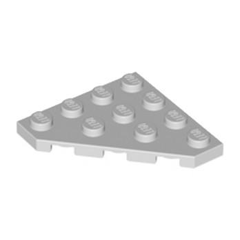 LEGO 4160560 PLATE D'ANGLE 45 DEG. 4X4 - MEDIUM STONE GREY
