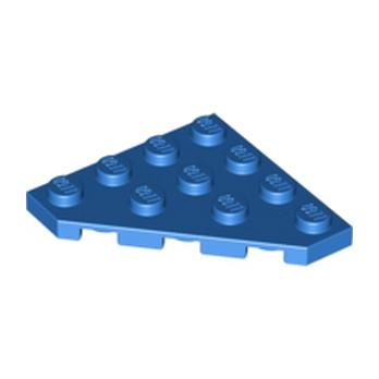 LEGO 6331843 CORNER PLATE 45 DEG. 4X4 - BLUE