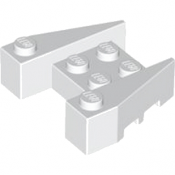 LEGO 4264027 BRIQUE 4X4/18° - BLANC lego-6249584-brique-4x418-blanc ici :