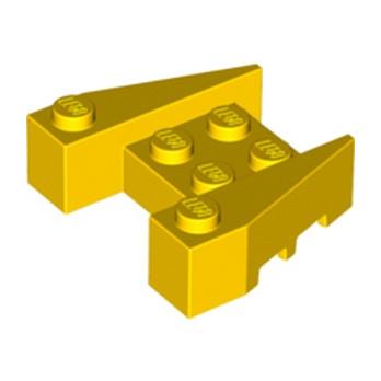 LEGO 4264028 BRIQUE 4X4/18° - JAUNE