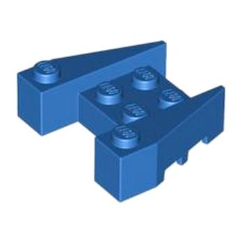LEGO 6248991 BRIQUE 4X4/18° - BLUE