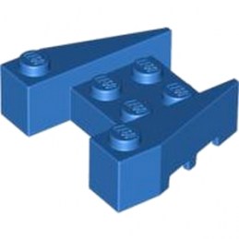 LEGO 6248991 BRIQUE 4X4/18° - BLUE lego-6248991-brick-4x418-blue ici :