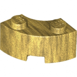 LEGO 6107743 BRIQUE 2X2 ARRONDIE - WARM GOLD