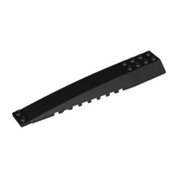 LEGO 4200486 BRIQUE 4X16 W/BOW/ANGLE - NOIR