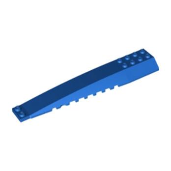 LEGO 6064656 BRIQUE 4X16 W/BOW/ANGLE - BLEU