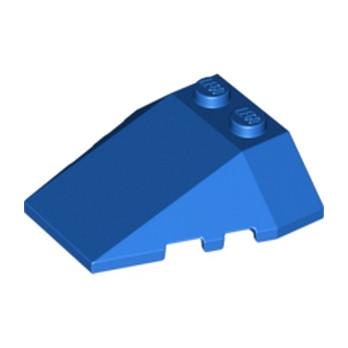 LEGO 4503808  ROOF TILE 4X2/18° W/COR. - BLEU